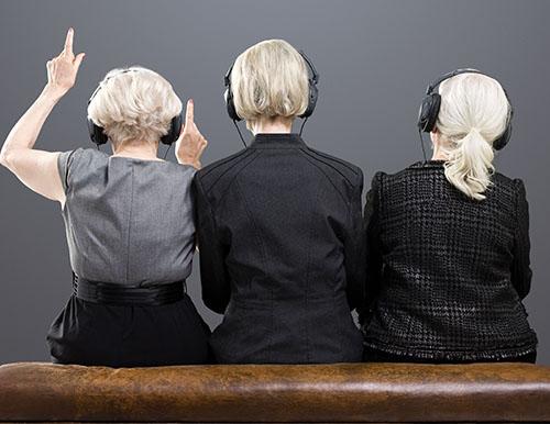 助聽器能解決老年聽障